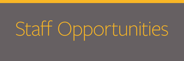 Featured Image for Staff Opportunities