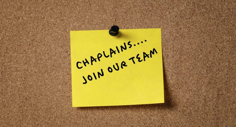 Featured Image for A Letter to Chaplains