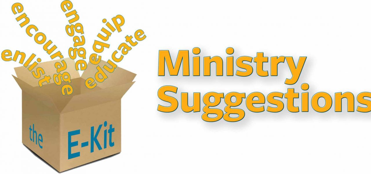 Featured Image for E-Kit: Ministry Suggestions