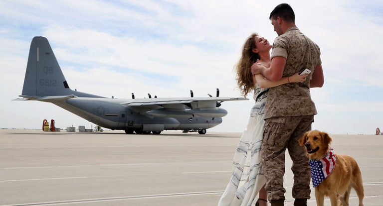 Featured Image for How To Pray For Your Spouse When They Are Deployed